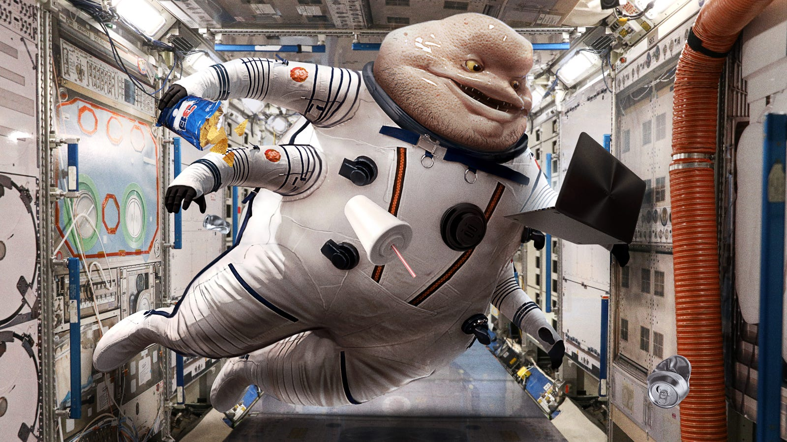 ISS Astronaut Sick Of Sharing Confined Space With Crass, Disgusting Partner From Polaris 8