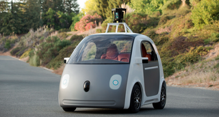 Illustration for article titled Google's New Self-Driving Car Doesn't Have A Steering Wheel
