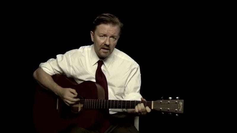 """Illustration for article titled Toro Y Moi covers """"Slough"""" by Ricky Gervais as David Brent, awesomeness ensues"""