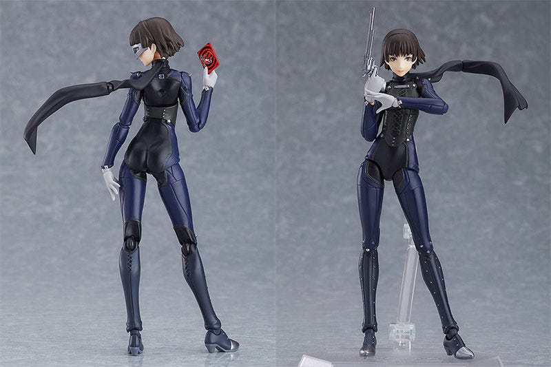 Illustration for article titled A Makoto Action Figure From Persona 5