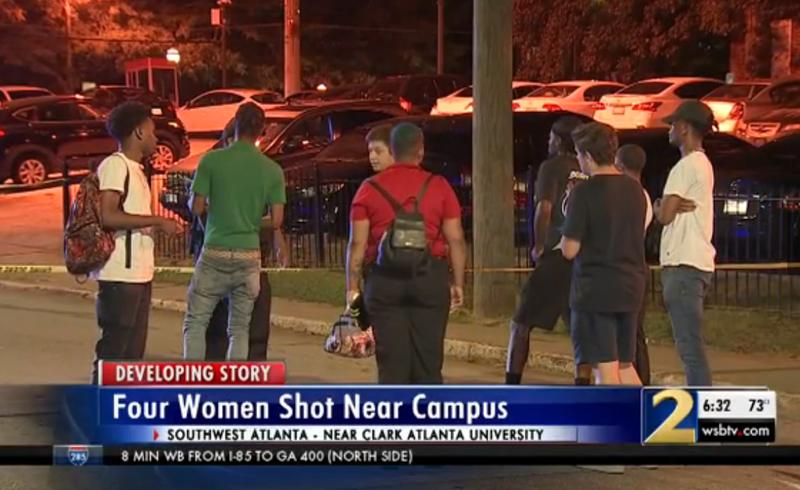 Illustration for article titled 4 Students Shot at Block Party at Atlanta University Center Library