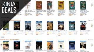 Illustration for article titled Amazon's Unveils a Huge Movie and Ebook Sale, Plus More Deals