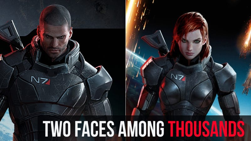 Illustration for article titled Why We Love Our Commander Shepard