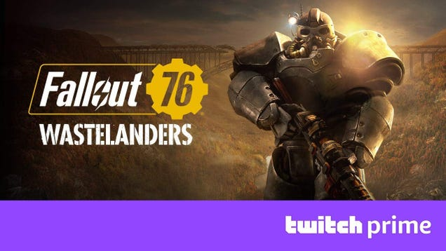 Snake Pass, Urban Trial Playground, and the New Fallout 76 Wastelanders Bundle Are Now Free on Twitch Prime