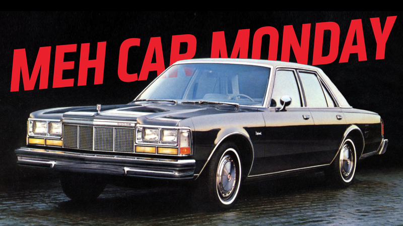 Illustration for article titled Meh Car Monday: The Dodge Diplomat Has Immunity From Being Interesting