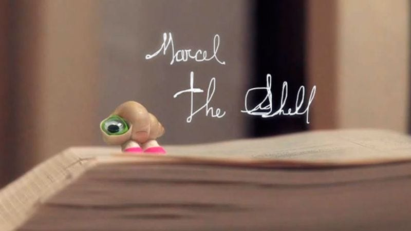 Illustration for article titled Jenny Slate says she's planning a Marcel The Shell movie
