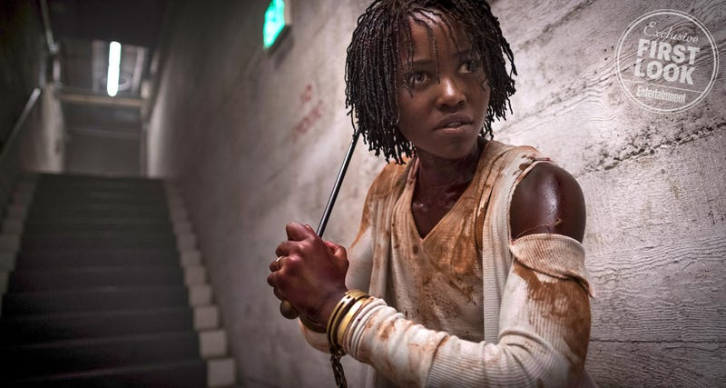 Lupita Nyong'o is ready to get spooked in Us