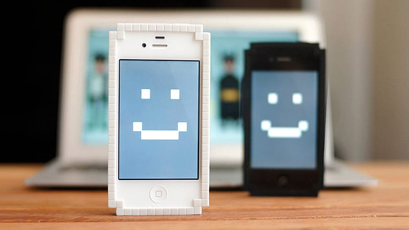 Illustration for article titled Wrap Your iPhone In This Adorable 8-Bit Bumper