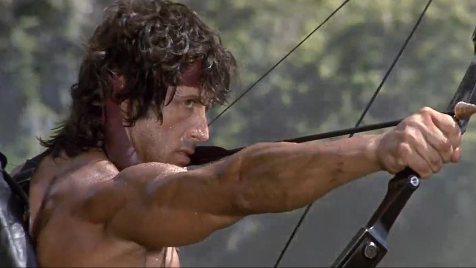 Rambo becomes a cartoon, in more ways than one