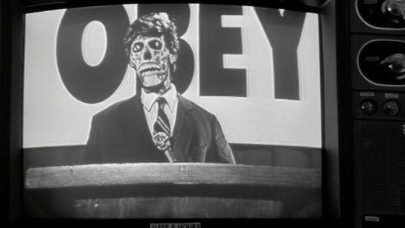 Screenshot: They Live (Vimeo)