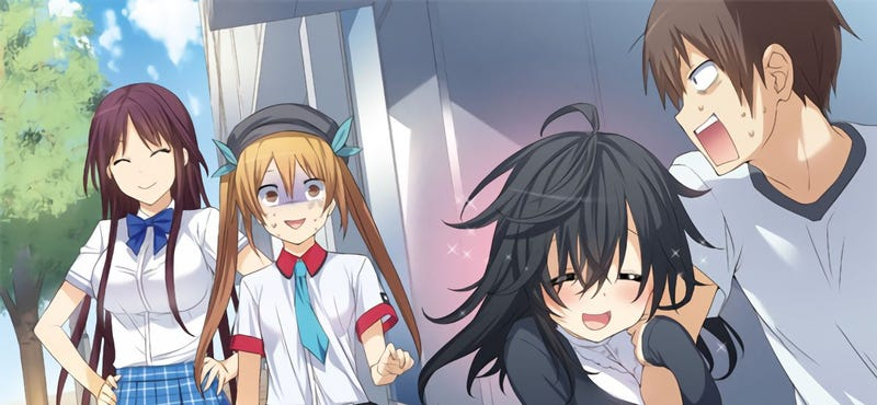 Illustration for article titled And you thought there is Never a girl online? Anime Trailer