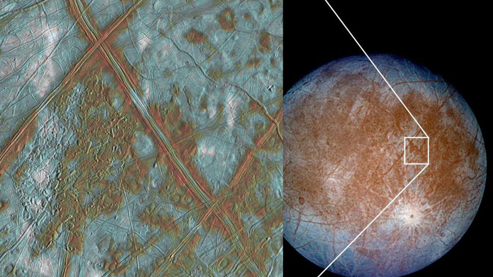 Planean una misión suicida para hallar vida en un satélite de Júpiter