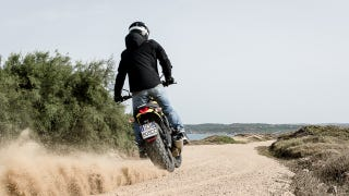 Illustration for article titled Good God The Ducati Scrambler Sounds Amazing