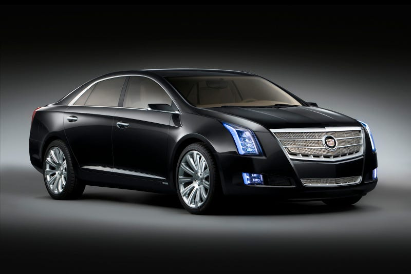 Illustration for article titled Cadillac XTS Platinum Concept: The Cadillac Of Luxo-Barges