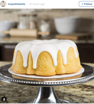 Patti LaBelle's pound cakeInstagram
