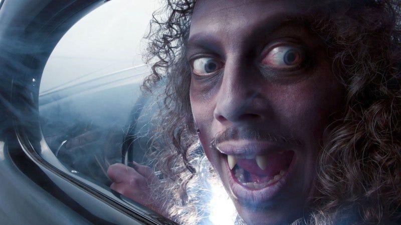 Kirk Hammett at his annual Fear FestEvil