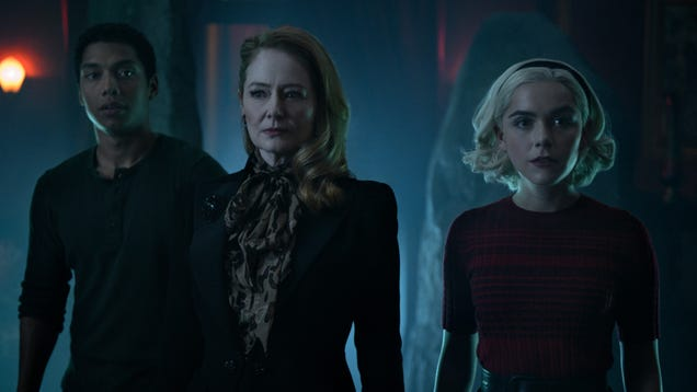 Chilling Adventures of Sabrina calls in a few favors, and a few hedge witches