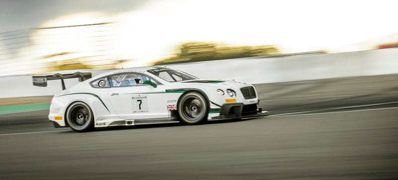 Illustration for article titled Go Behind The Scenes Of Bentley's First 24 Hour Race In A Decade At Spa