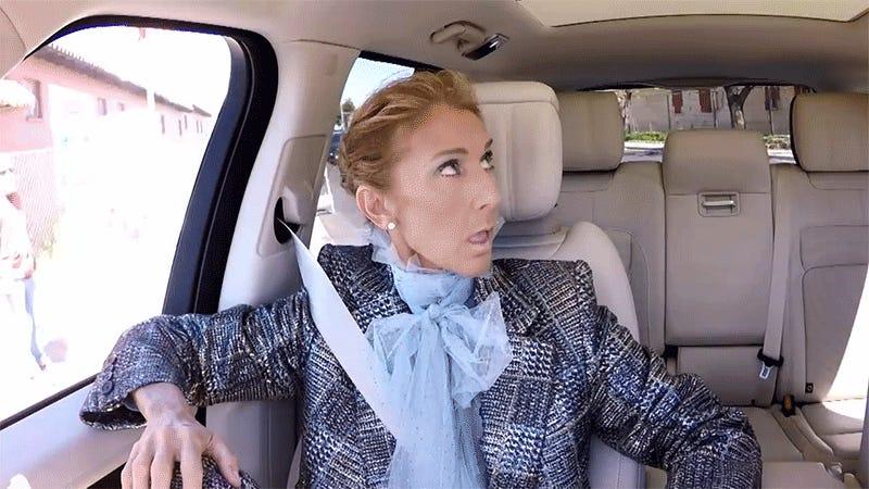Carpool Karaoke Finds Celine Dion at Her Celinest