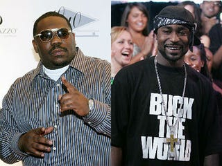 Beanie Sigel, Young Buck (Ethan Miller, Bryan Bedder/Getty Images)