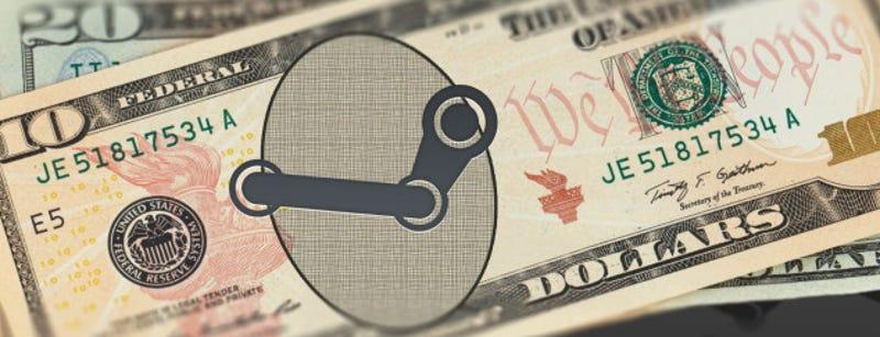 Illustration for article titled La aparición de dinero gratis en cuentas de Steam dispara la alarma entre sus usuarios