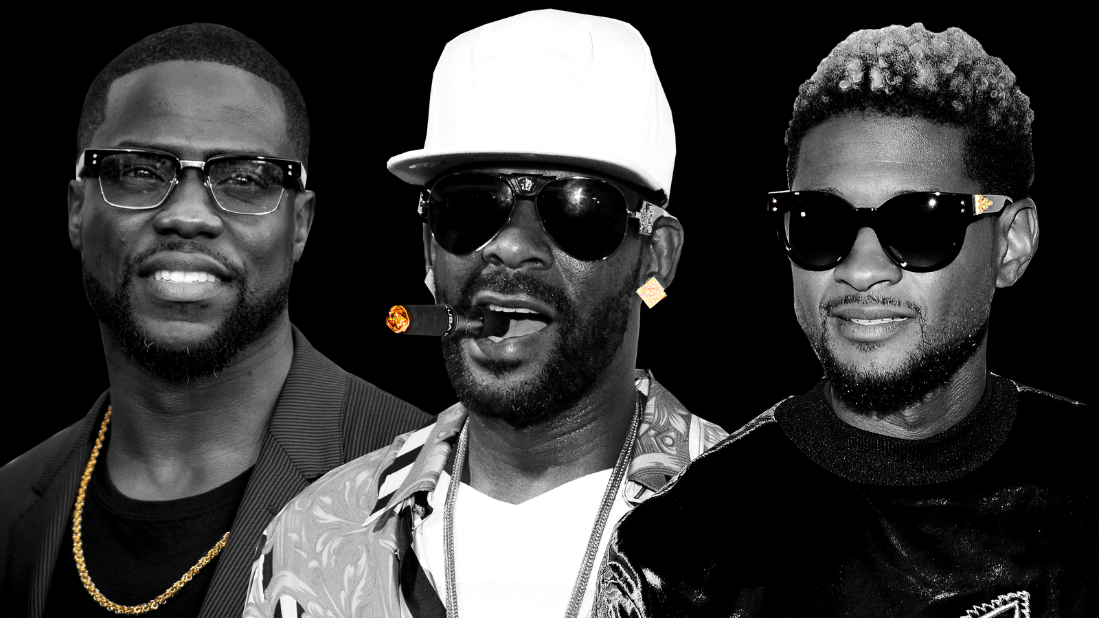R. Kelly, Usher, Kevin...R Kelly And Aaliyah
