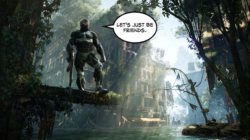 Illustration for article titled Nothing Like Getting Friendzoned By Crysis