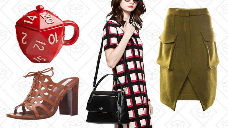 Illustration for article titled Today's Best Lifestyle Deals: Kate Spade, ThinkGeek, Front Row Shop, and More