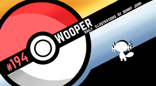 Illustration for article titled Wee Wooper! Pokemon One a Day, Series 2!