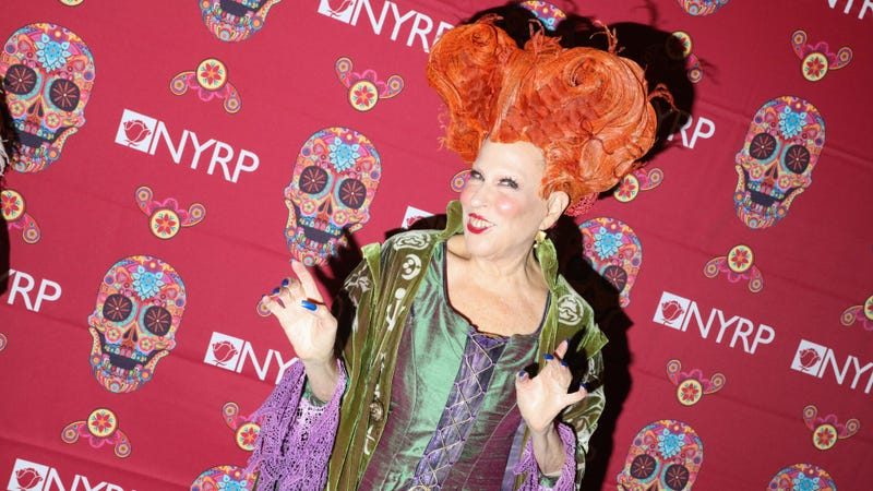 Midler, dressed up as her Hocus Pocus character for Halloween last year. (Photo: Rebecca Smeyne/Getty Images)
