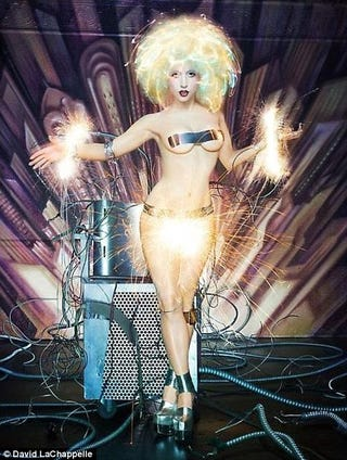 Illustration for article titled Lady GaGa Finally Goes Too Far — With Science! [NSFW]