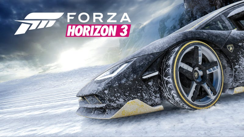 Illustration for article titled [Not] Disney's Forza Horizon 3 On Ice