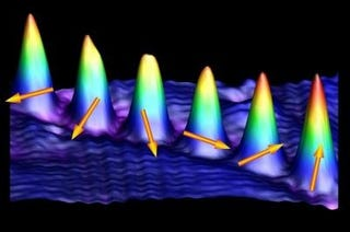 Illustration for article titled Researchers Witness and Image Atomic Spin for the First Time