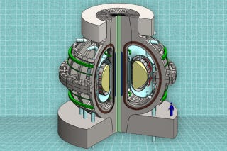 Illustration for article titled This Little Fusion Reactor May One Day Power the World