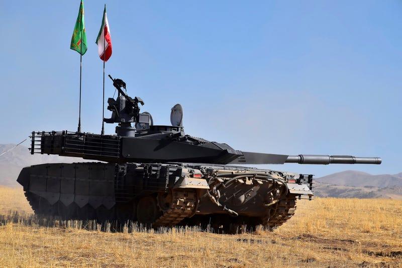Entfernungsmesser Panzer : Irans neuer panzer macht schlechte ansprüche die es nicht