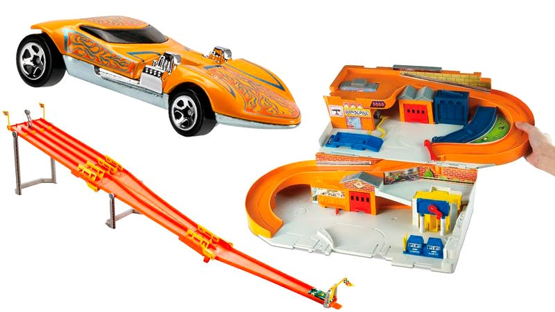 Illustration for article titled Hot Wheels Is Reviving Some Classic '80s Cars and Sets For a New Retro Line