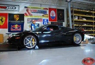 Illustration for article titled Ferrari 458 Italia Hits Dyno, Returns Expected Figures