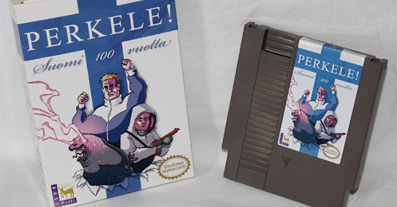 Illustration for article titled Finland Turns 100, Gets NES Game To Celebrate