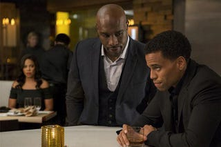 Sanaa Lathan, Morris Chestnut and Michael Ealy in The Perfect GuyScreen Gems