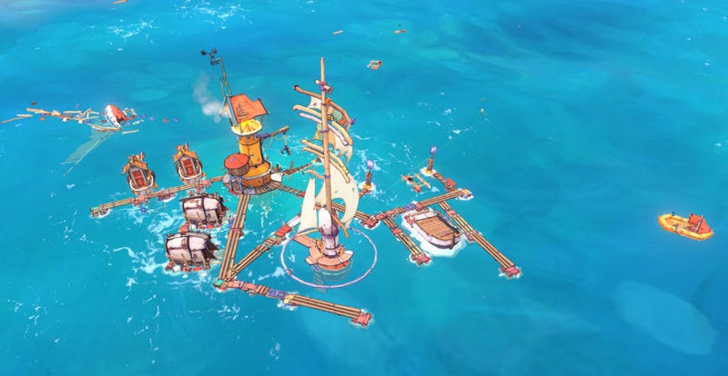 Illustration for article titled Flotsam Is Waterworld: The Strategy Game