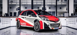 Illustration for article titled Toyota Returns To Rally In 2017 With The First Yaris We Care About