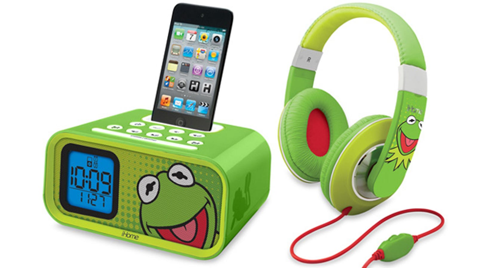Being Green Isn't So Difficult With iHome's Kermit Gear