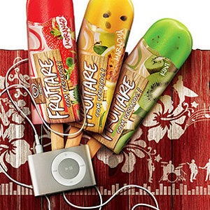 Illustration for article titled Ice Cream Company Gives Away 10,000 Frozen iPods Inside Popsicles