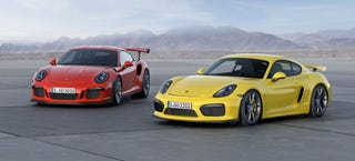 Illustration for article titled A Conversation Between Two Track Porsches