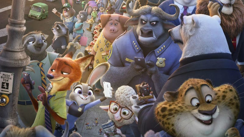 Illustration for article titled One Animal in Zootopia Has More Individual Hairs Than Every Character in FrozenCombined