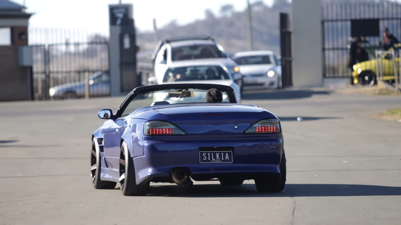 Screencap taken from the Mighty Car Mods Canberra meet video