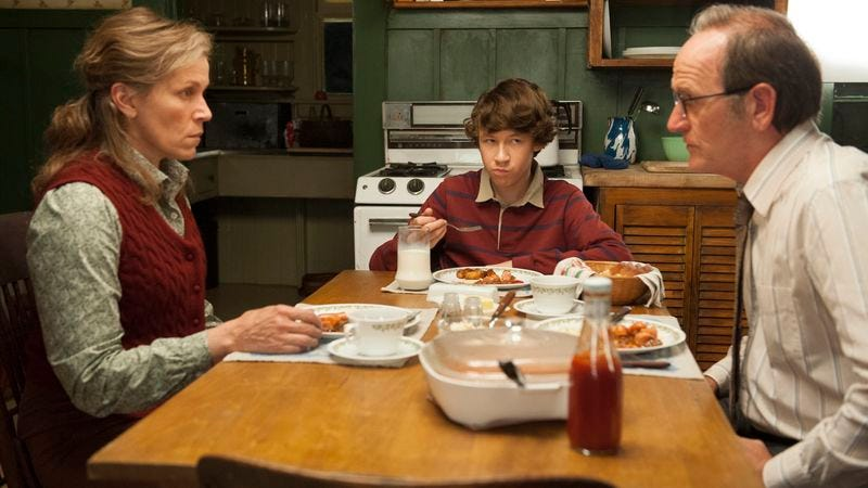 """Illustration for article titled HBO takes on """"unfilmable"""" novel Olive Kitteridge, proves it's quite filmable"""