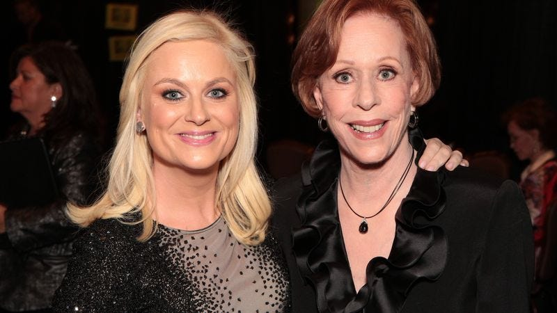Illustration for article titled Carol Burnett is coming back to TV, with Amy Poehler's help