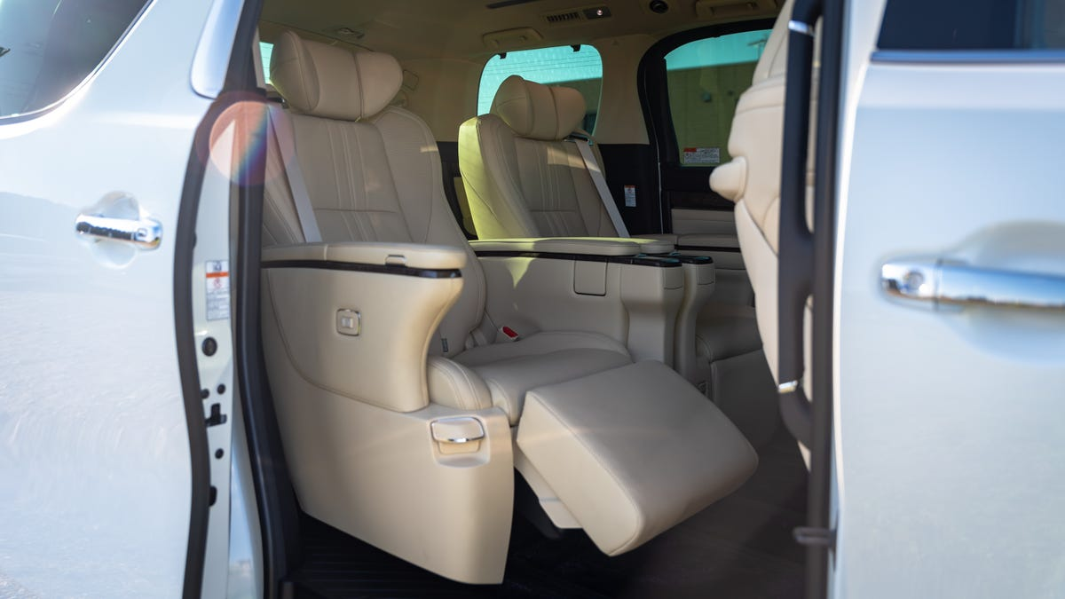 The Toyota Alphard Is the Opulent Luxury Minivan the Rest of the