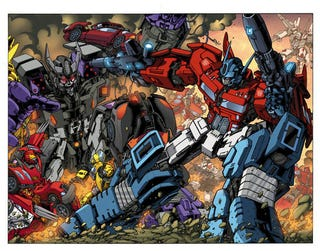 Illustration for article titled If Only Michael Bay's Transformers Looked This Cool